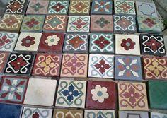 tocetos calcáreos 10x10cm/ decorados