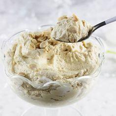 Nut cream with mascarpone. Kitchen Chemistry, Food Cakes, Cake Recipes, Ice Cream, Sweets, Baking, Cream, Mascarpone, Kuchen