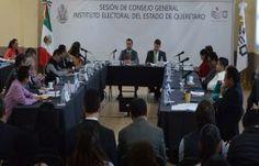En sesión ordinaria realizada en el auditorio de la Universidad Corregidora de Querétaro, el Consejo General del Instituto Electoral del...