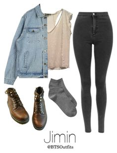 Horseback riding with Jimin by btsoutfits on Polyvore featuring polyvore, fashion, style, Maje, Gap and clothing