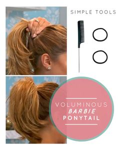 Uplift your pony tail