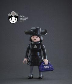 Harajuku Goth  playmobil custom