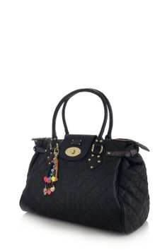 Twister black quilted tianze bag