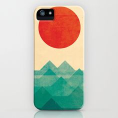 The Ocean, The Sea, The Wave iPhone Case by Budi Satria Kwan