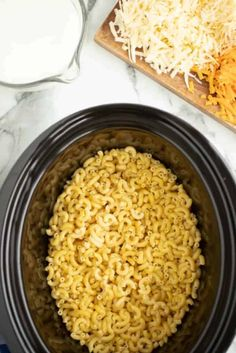 Crock Pot Mac and Cheese IngredientsYou can find Crock pot mac and cheese and more on our website.Crock Pot Mac and Cheese Ingredients Crockpot Dishes, Crock Pot Cooking, Crockpot Recipes, Chicken Recipes, Cooking Recipes, Casserole Recipes, Healthy Recipes, Creamy Crockpot Mac And Cheese Recipe, Cheese Ingredients