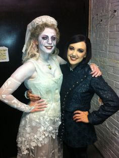 When You're An Addams Broadway Costumes, Theatre Costumes, Musical Theatre, Adams Family Costume, Family Costumes, Neo Victorian, Gothic, Theater Makeup, Brooke Shields