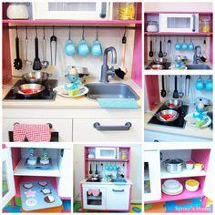 13 Easy Ways To Makeover IKEAu0027s Kidsu0027 Kitchen   La Niñes   Pinterest   Ikea  Play Kitchen, Kid And Plays