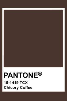 Pantone Shaved Chocolate Chocolate in 2019 Brown pantone brown color theory - Brown Things