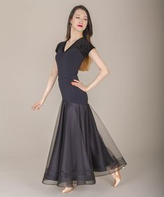 Women's Skirts, DSI London, 3212 Hettie Skirt, $305.00, from VEdance, the very best in ballroom and Latin dance shoes and dancewear.
