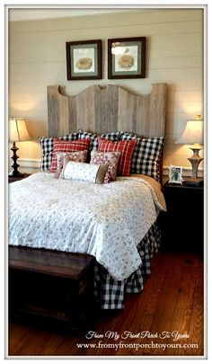 Guest Bedroom-Texas Farmhouse-RoundTop Texas-Trendmaker Homes-From My Front Porch To Yours