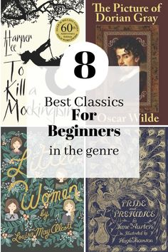 Some of the most engaging and rewarding books are classics, but it's easy to feel overwhelmed by how well-known and well-loved they are. So many people have strong and conflicting opinions on which classics to read and what you should think about them, that it can feel like a minefield. Here are 8 of the best and most accessible classics to start out with: Best classics | acccessible classics | classics for beginners