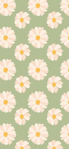 Iphone Wallpaper Green, Frühling Wallpaper, Spring Wallpaper, Flower Phone Wallpaper, Iphone Background Wallpaper, Iphone Wallpapers, Wallpaper Quotes, Pattern Wallpaper Iphone, Wallpaper Iphone Vintage