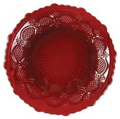 "Avon Cape Cod-Ruby 5"" bread and butter plate - want 12"