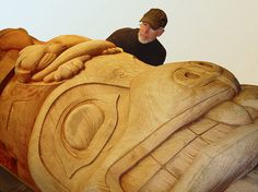 Totem Pole by Jack Burgess artist, via Flickr