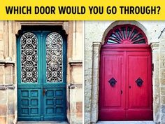 People are like doors — they hide entire worlds of their own behind an unremarkable exterior.  A door to another dimension