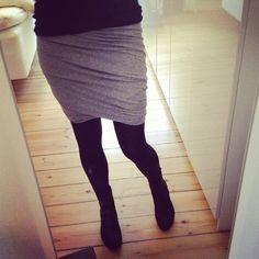 mille1000fryd - twisted skirt