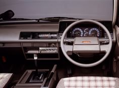 Car Interiors: 1985 Nissan Vanette