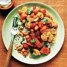 Fall Recipes | Fall Vegetable Curry | CookingLight.com