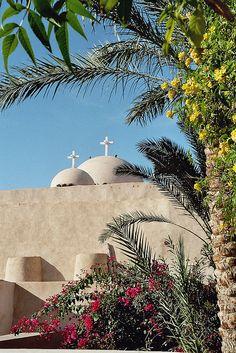 Wadi Natrun Coptic Monastery in Egypt