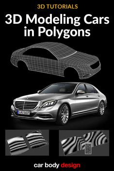 3D Tutorial: Modeling Cars in Polygons