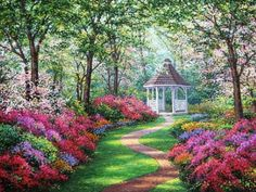 """~A garden is a delight to the eye and a solace for the soul. ~☆჻*´¯`*჻☆჻*´""""""""♥   -Sadi"""