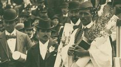 August 1, 1936: Spyros Louis, the son of a farmer who made a modest living delivering clean drinking water to the rich residents of Athens, became an overn