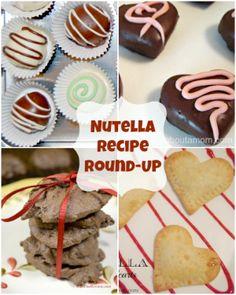 Nutella Recipe Round Up #recipes #nutella