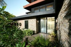 Bendel-Daniels House - asian - entry - san diego - Silva Studios Architecture