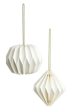 2-pack Christmas tree baubles - White - Home All | H&M GB
