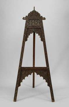 Asian Indian Southeast Asian Misc. Furniture Easel Stand Rosewo