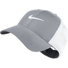 aa5ee72c2ad Nike Golf 2016 Legacy 91 Tour Mesh Hat Stretch Fit Mens Golf Cap Wolf  GreyWhite MediumLarge -- For more information