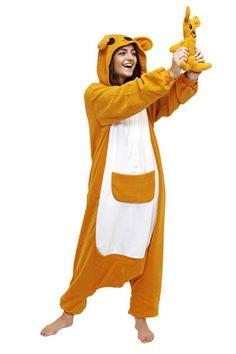 Kangaroo Onesie for Adults - Unicorn Onesies