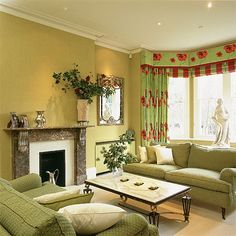 Green Interior Designs For Modern And Classical Home | Design | Pinterest |  Green Interior Design, Sitting Room Decor And Interiors