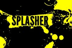 Splasher by Leitmotif on @creativemarket