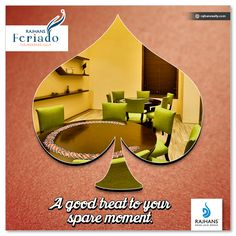 #CardRoom A good treat to your spare moment. #RajhansFeriado #RajhansRealEstate #RajhansDesaiJainGroup #Surat