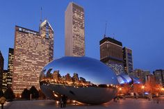 Millenium park, chicago - many many many hours have been spent here - me+camera+friends+bean=crazy fun times :)