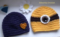 #minion #heart Señorita Crochet