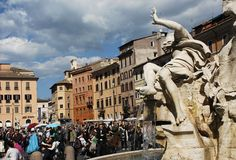 Fontana dei Fiumi (The Fountain of the four Rivers) - Turismo Roma