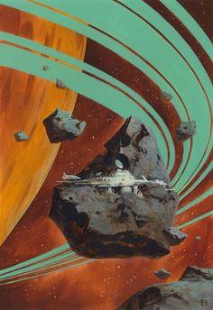 28 Super Ideas For Science Fiction Design Retro Futurism Arte Sci Fi, 70s Sci Fi Art, Diesel Punk, Science Fiction Art, Retro Art, Sci Fi Fantasy, Illustrations, Cover Art, Concept Art