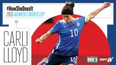 A guide to Carli Lloyd's low-tech, high-production training plan that keeps the high-scoring midfielder on her toes for the World Cup.