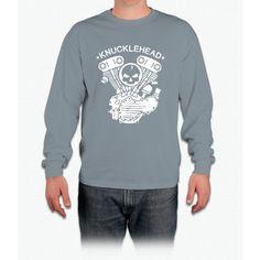 Knucklehead Engine Long Sleeve T-Shirt