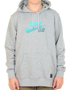 Inseption - Nike - Mens - SB Icon Gradient Pullover - Grey