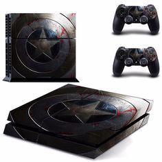 PS 4 Vinyl Skin Sticker Cover For PS4 Playstation 4 Console + Controller Decal # DPTM0004