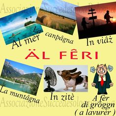 Vacation in Bolognese dialect.   www.succedesoloabologna.it