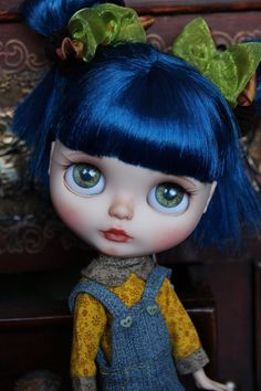 Ooak Custom Blythe Art Doll LUKA by Beyourdolls by beyourdolls