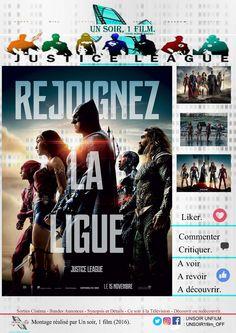 Bande annonce vidéo: https://youtu.be/px0qLcIBSmw  Titre : Justice league. #justiceleague Durée :  Type : Action - Aventure - Fantastique Sortie : 15 Novembre 2017  Réalisateur / Acteurs : Zack Snyder / Ben Affleck, Henry Cavill, Gal Gadot #zacksnyder #benaffleck #galgadot #jasonmomoa  Histoire :  Après avoir retrouvé foi en l'humanité, Bruce Wayne, inspiré par l'altruisme de Superman, sollicite l'aide de sa nouvelle alliée, Diana Prince, pour affronter un ennemi plus redoutable que jamais…