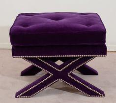 Purple Sofa, Purple Furniture, Purple Decor, Living room, Decor, Room Makeover, Modern Decor, Contemporary Furniture, Mid Century Furniture