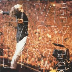 INXS - Live Baby Live cd cover