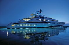 World's Largest Motor Yacht | Palladium, Photo courtesy of Michael Leach Designs