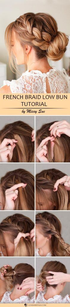 How To: French Braid [3 Hair Tutorials] ★ See more: http://lovehairstyles.com/how-to-french-braid-tutorial/